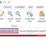 combine files result windows Soda PDF 6