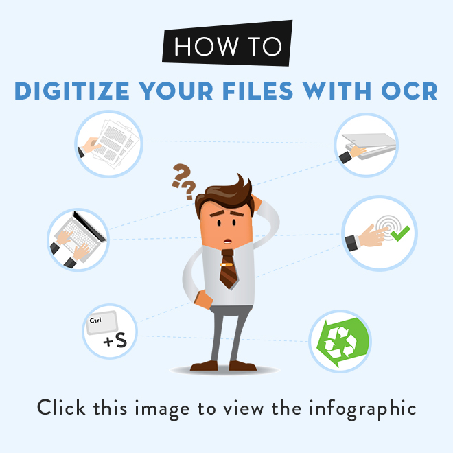How to Digitize Your Files With OCR