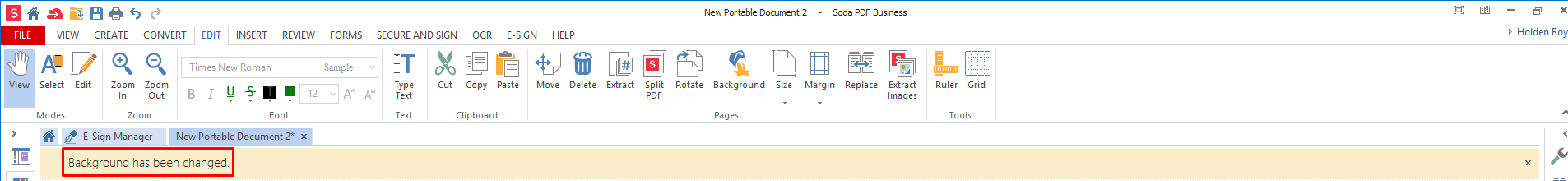 How to Replace or Add Background Color in a PDF Document | Soda PDF Blog