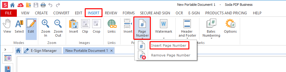How to Add Page Numbers to a PDF File | Soda PDF Blog
