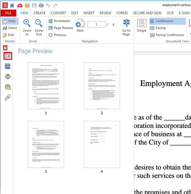 How to delete a page from a PDF file