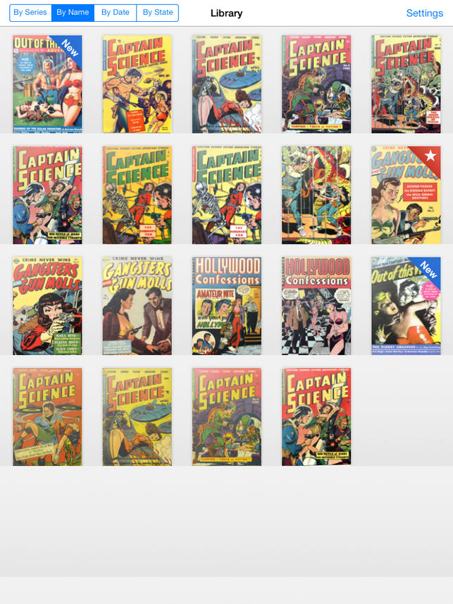 comic book reader for iPad - ComicFlow