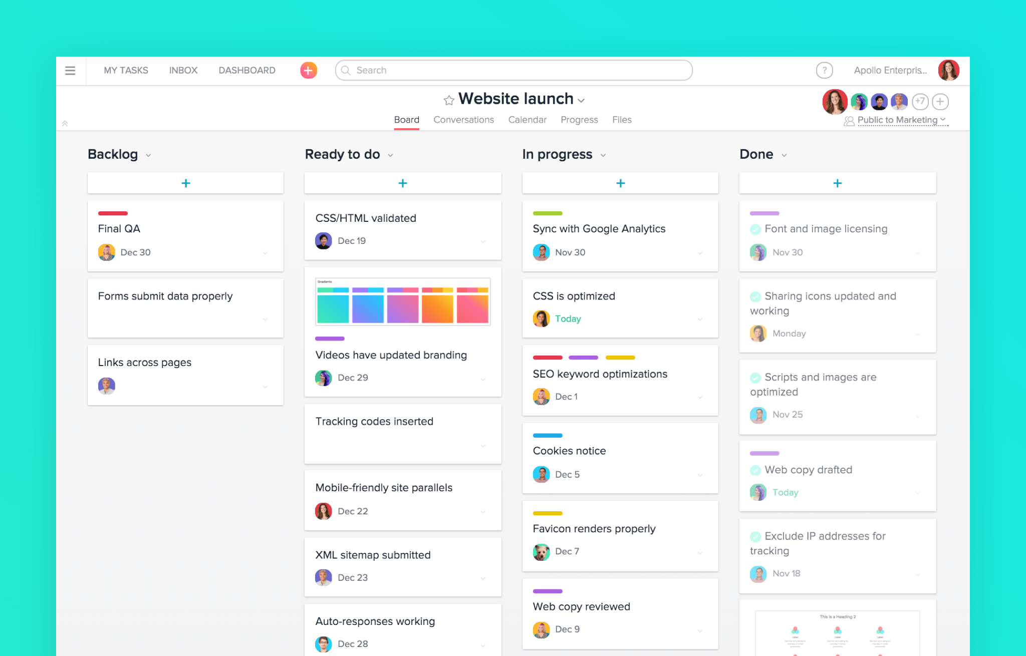 online collaboration tools Asana