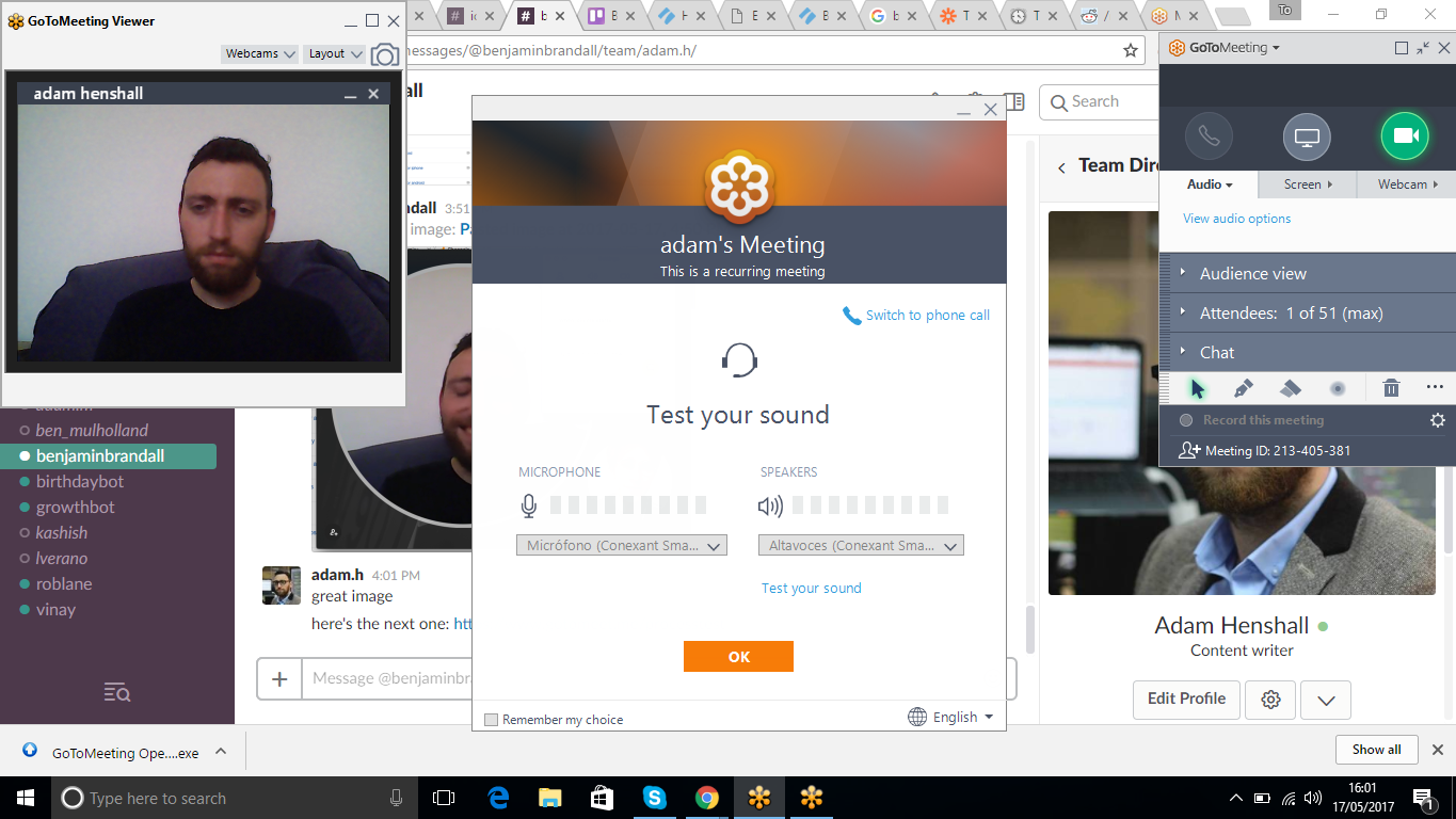 online collaboration tools Go ToMeeting