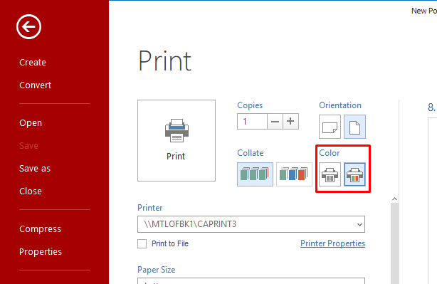 PDF Printing How To Print To Paper With Soda PDF