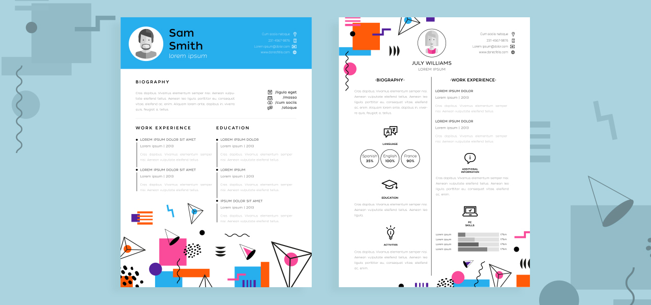 Best Resume Templates That Will Showcase Your Skills Soda