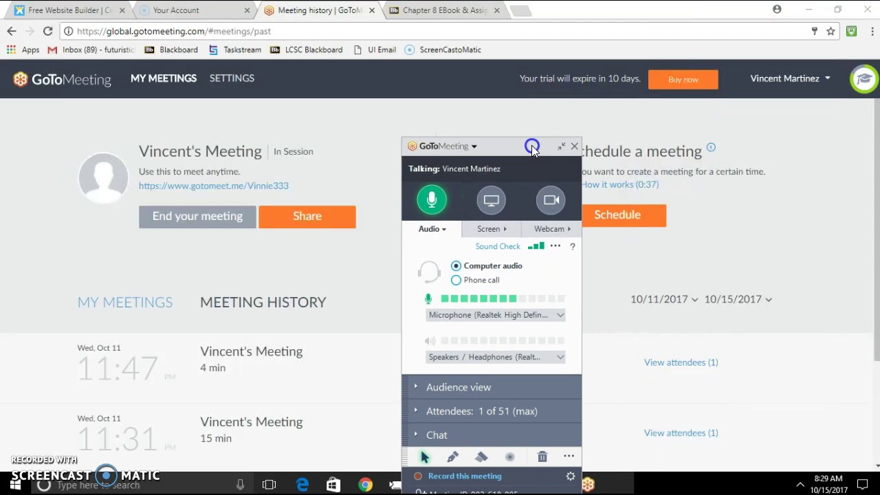 best video conferencing apps gotmeeting