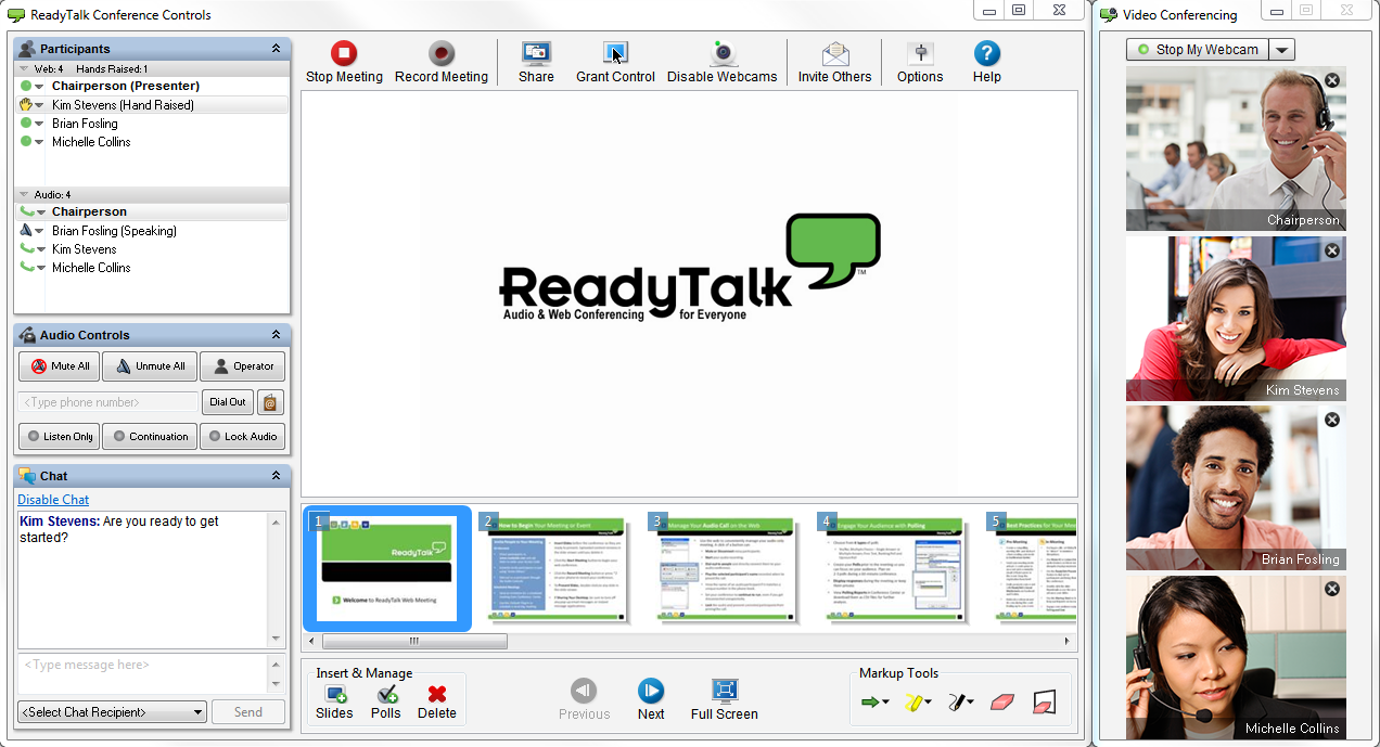 best video conferencing apps readytalk