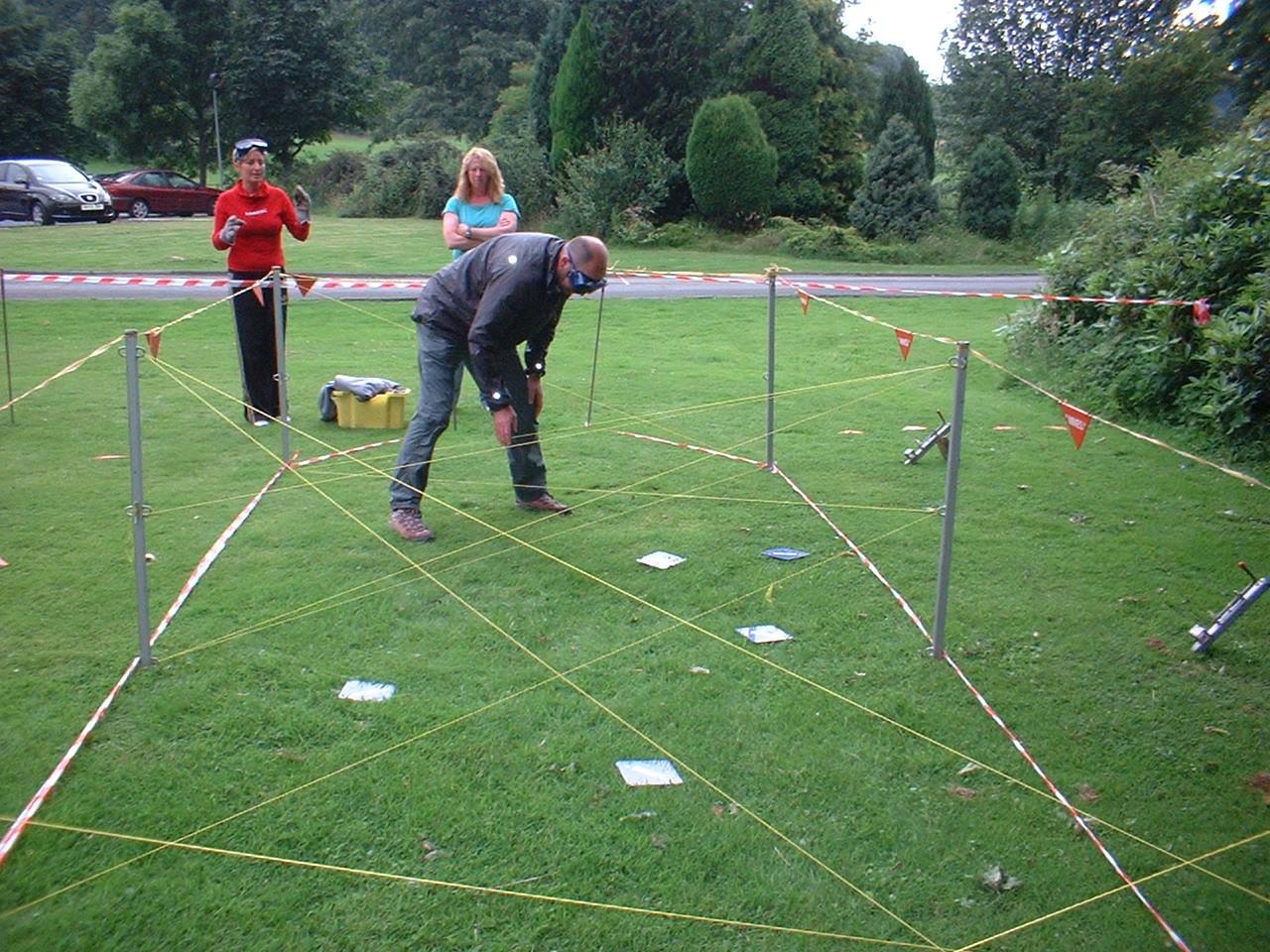 team building activities minefield