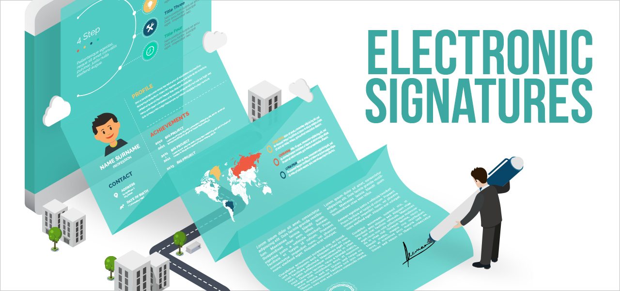 [Infographic] Electronic signatures history and origins