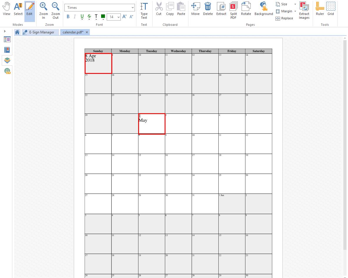 photo regarding Printable Calendar Pdf named Acquire a Printable Calendar for PDF Soda PDF Blog site