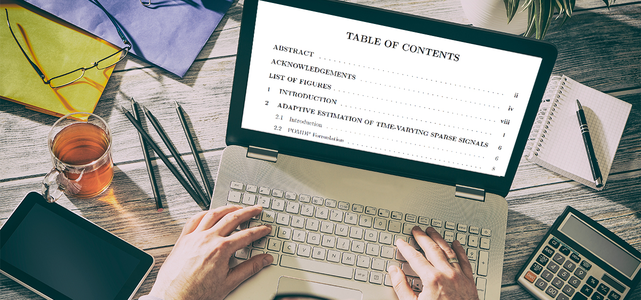 table of contents pdf adobe