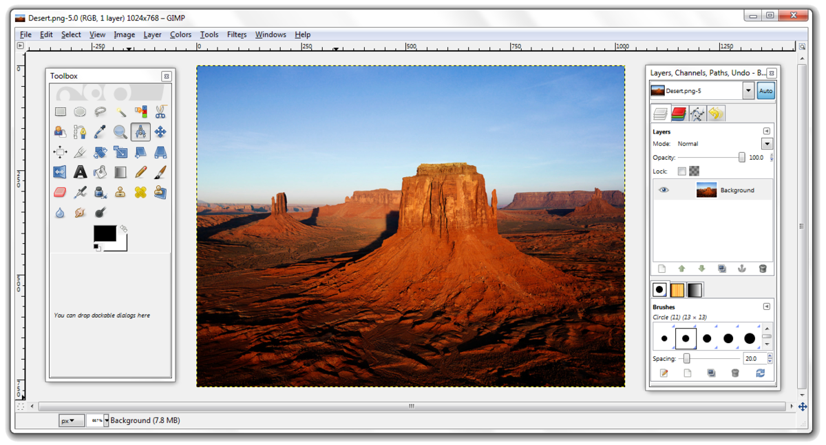 best free photo editing software - photoscape