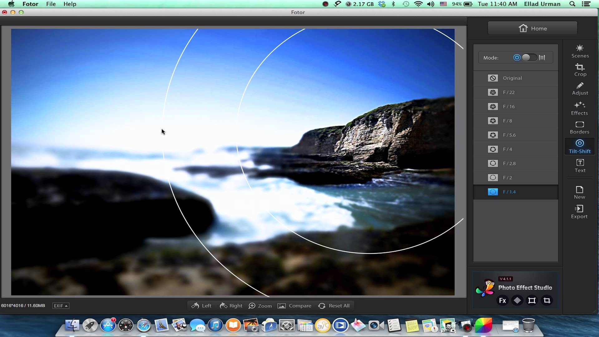 free photo editing software fotor
