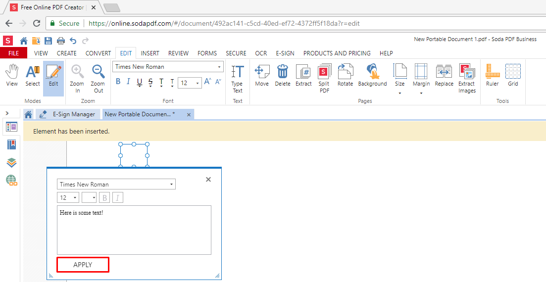 How to Edit Text in a PDF Document | Soda PDF Blog