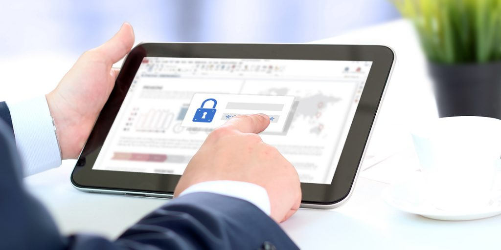 PDF features password