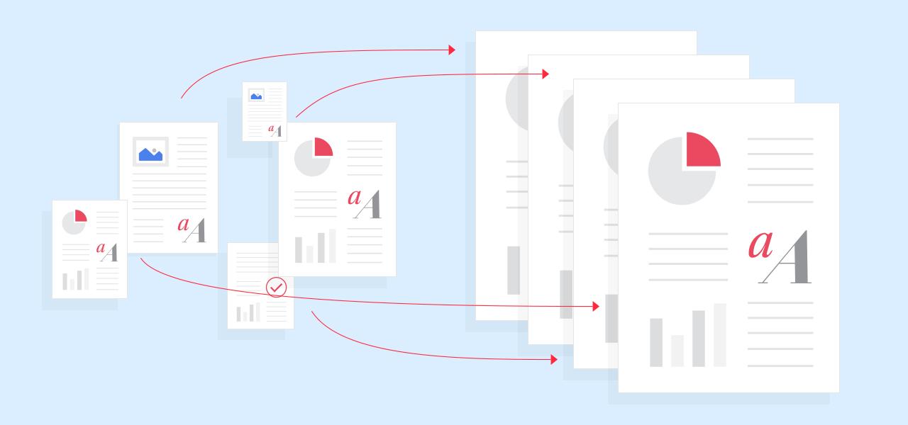 pdf features batch create