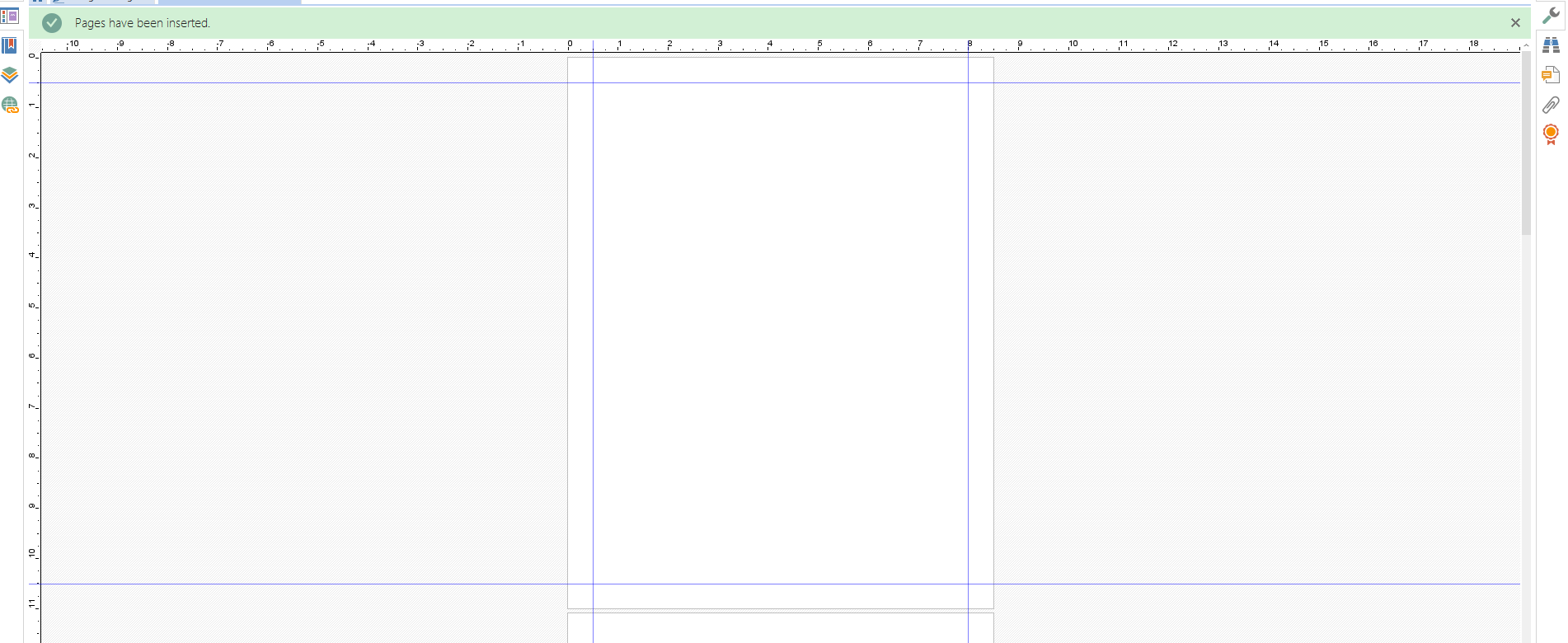 3 Add ruler lines Create a birthday card template