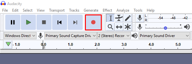 Record audio how to make a tutorial video