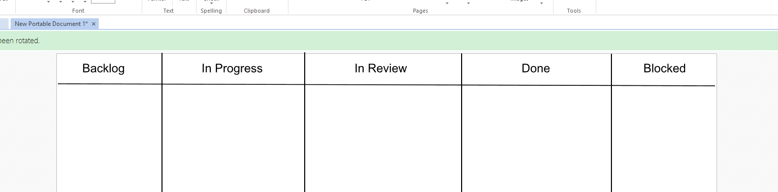 titles added make storyboard templates