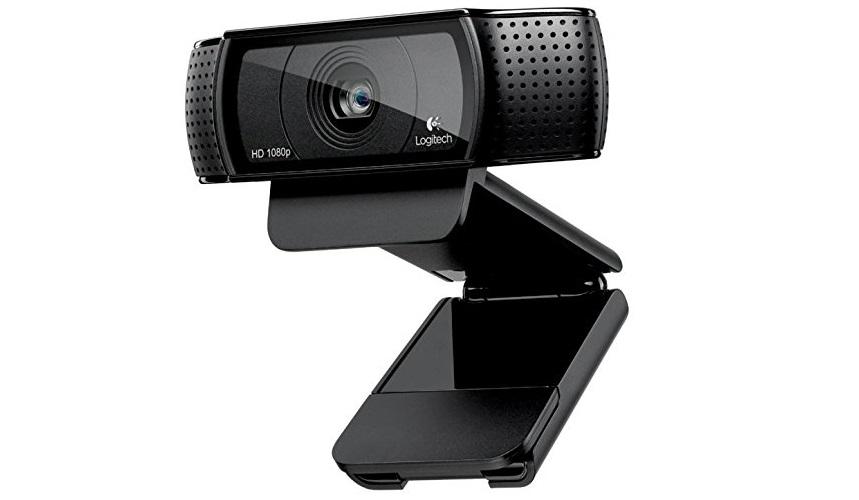 Best webcam Logitech-C920