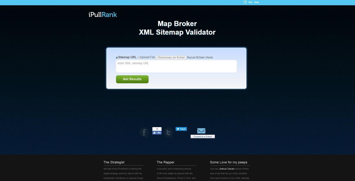 Free SEO Tools Map Broker XML Sitemap Validator