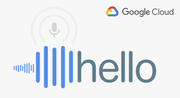 Voice Recognition - Google Cloud speech-to-text