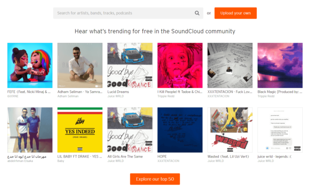 publishing audio podcasts - soundcloud 2