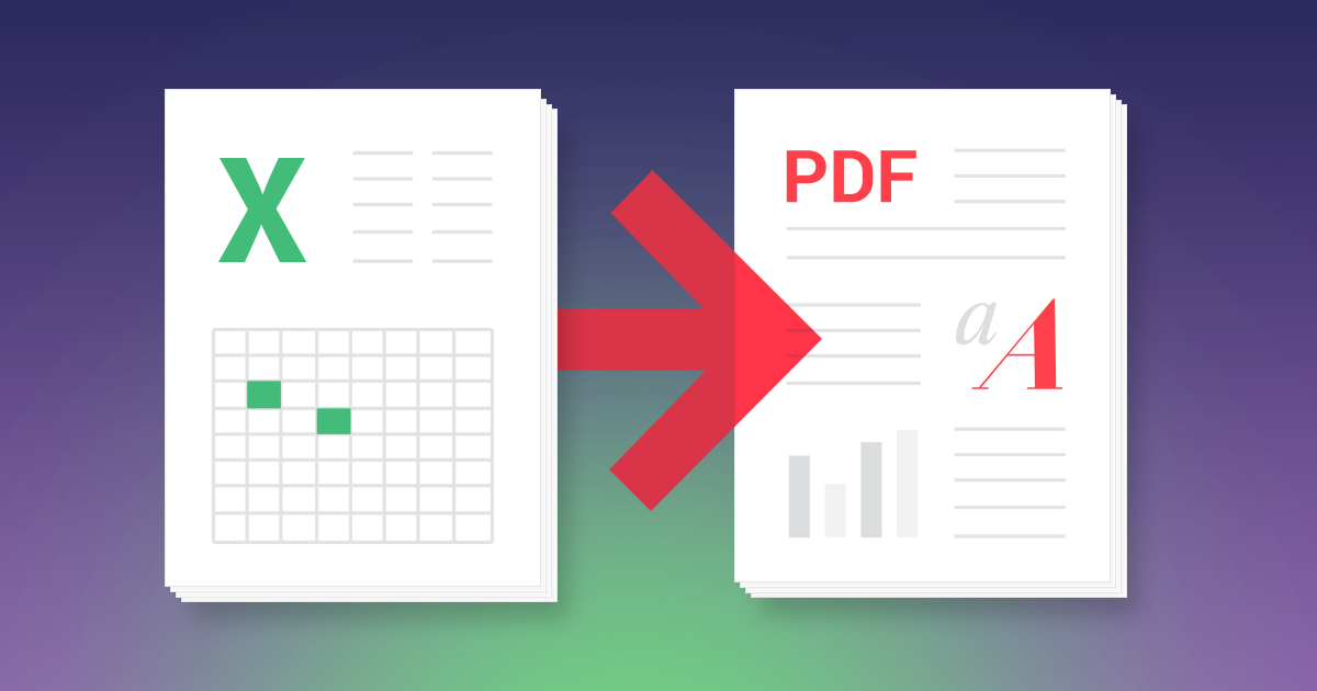 How to Convert Excel to PDF