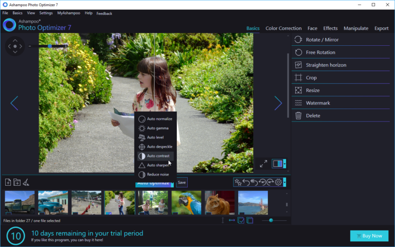 ashampoo phot optimizer 7 free photo editors