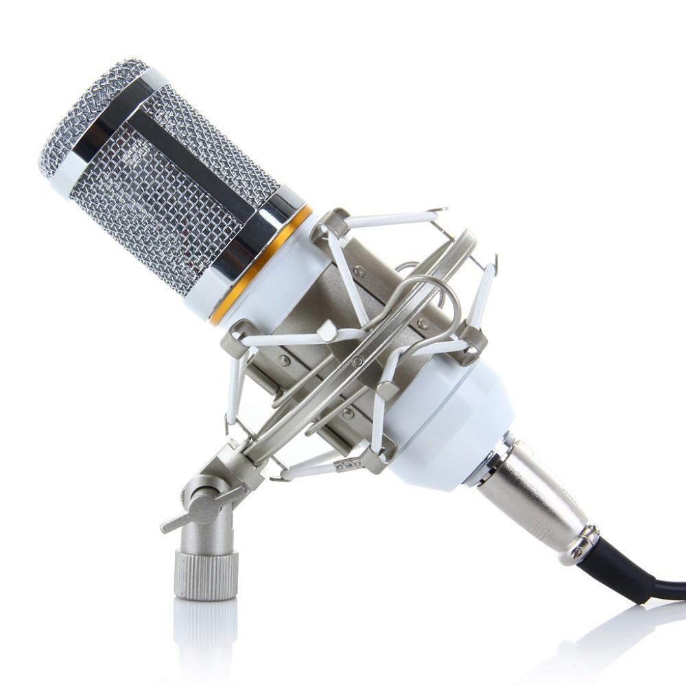 best USB mics bm 800 white studio condenser mic