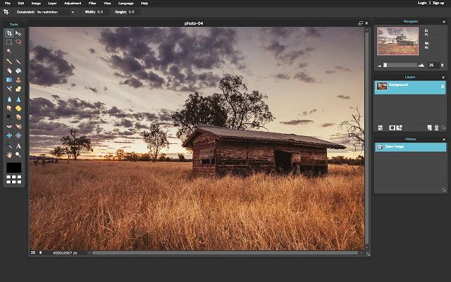 pixlr intro free photo editor