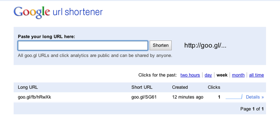 tech that will die in 2019 - Google URL Shortener