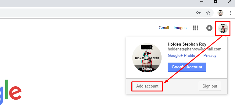 add account how to use g suite for success