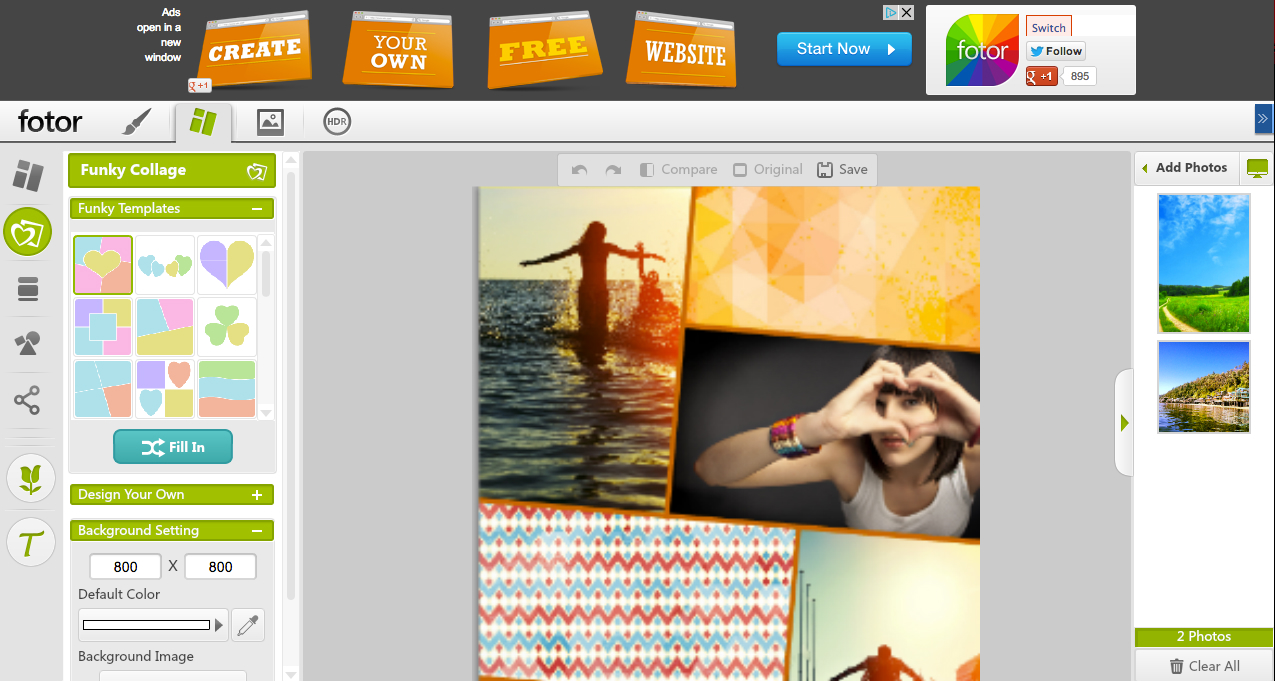 fotor the 6 best free photo collage makers for social media