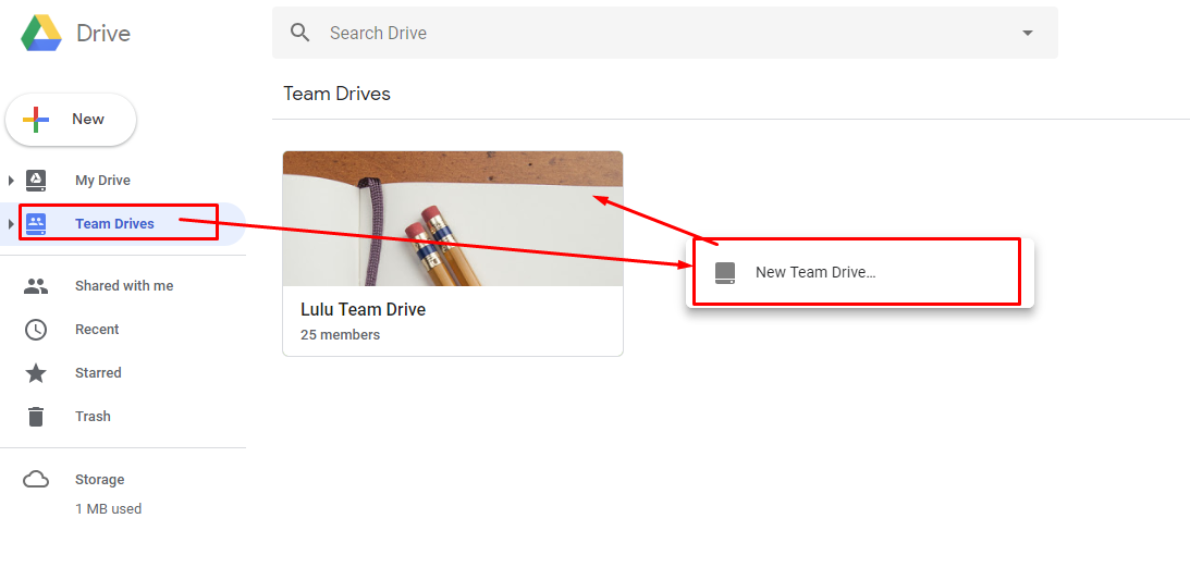 set up team drives how to use g suite for success