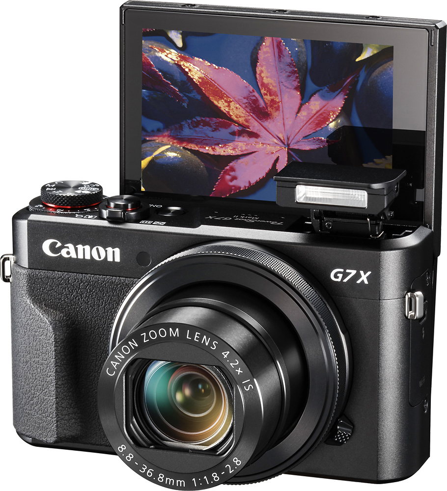 best cameras for photography - Canon PowerShot G7X Mark II