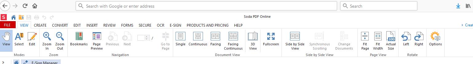 Soda PDF Online 10 best mozilla firefox plugins