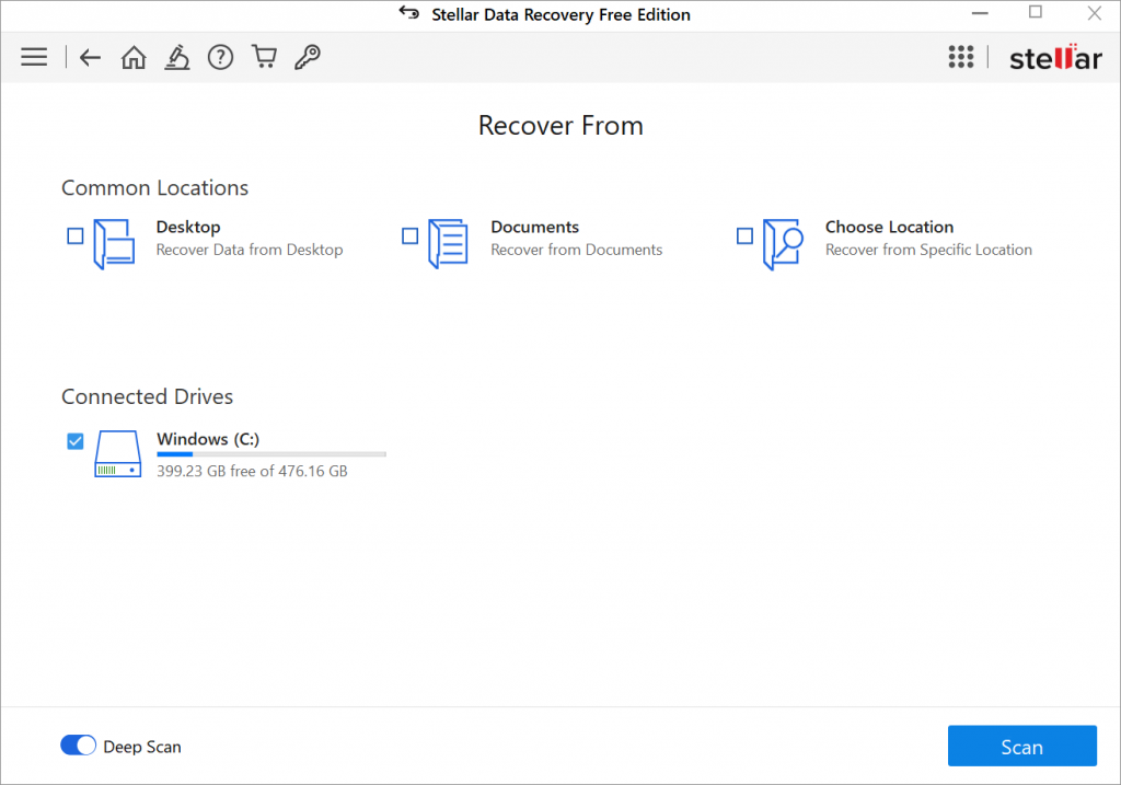 Stellar Data Recovery Free Edition - Recover From - Soda PDF Blog