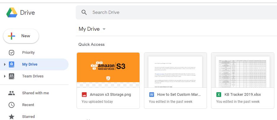 google drive best cloud storage systems