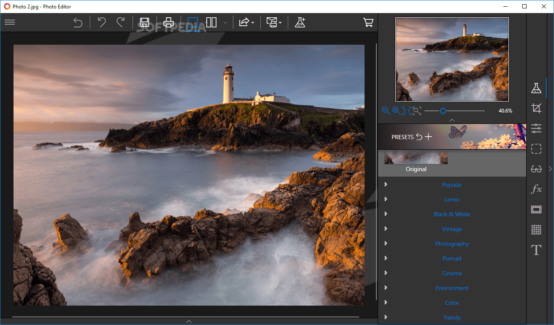 InPixio Photo Editor best photoshop alternative