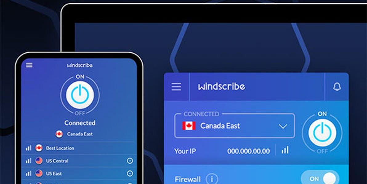 Windscribe best free vpns