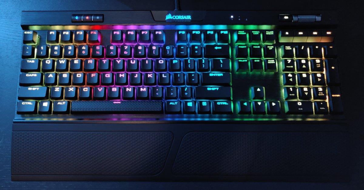 Corsair K70 RGB MK.2 best mechanical keyboards