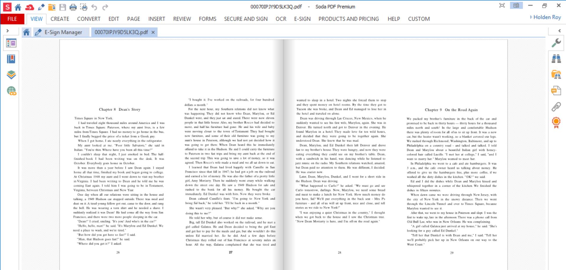 Soda PDF Free EBook Readers