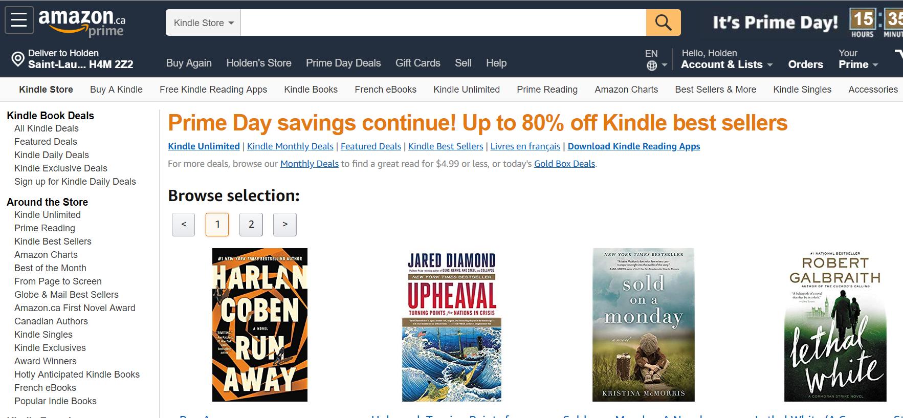 Amazon Kindle best ebook sites
