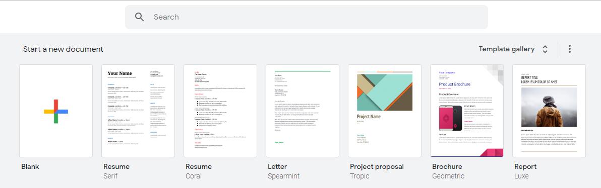google docs best free PDF templates