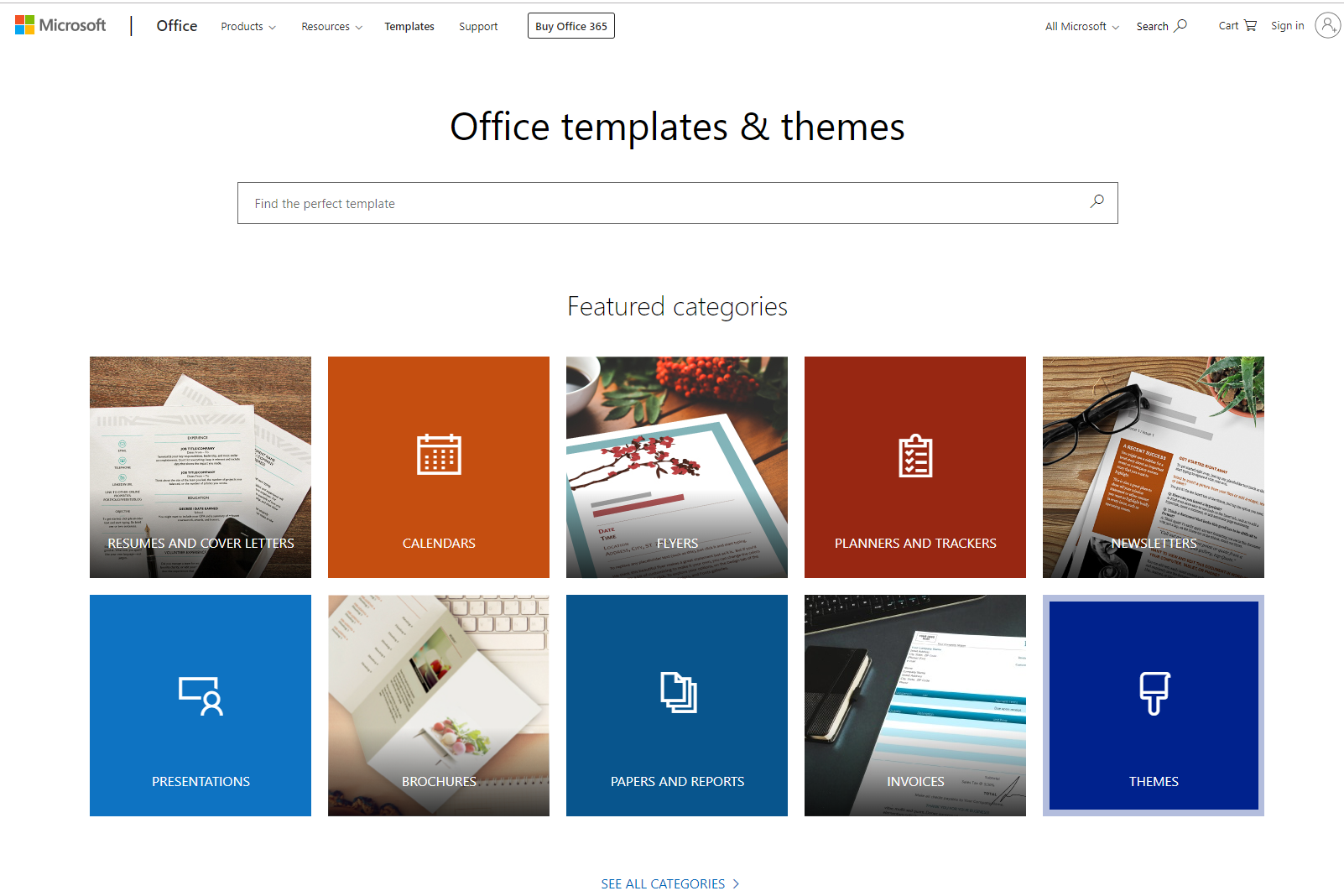 templates.office.com best free PDF templates