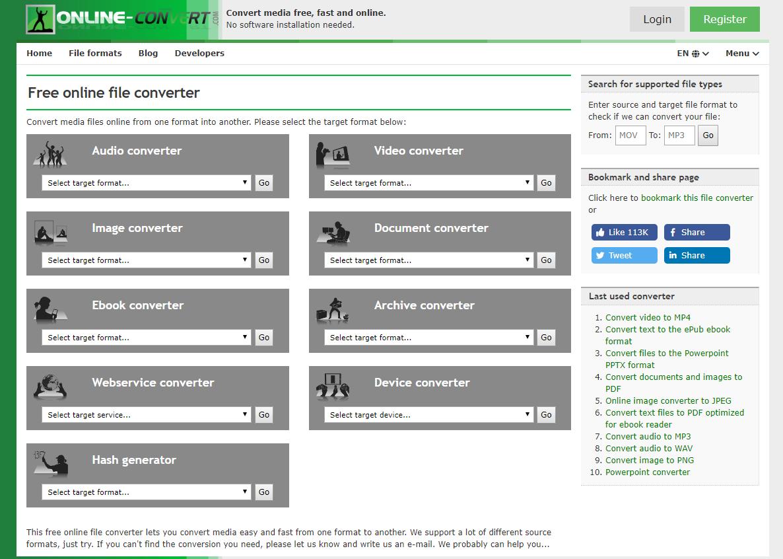 online-convert.com best online video converter