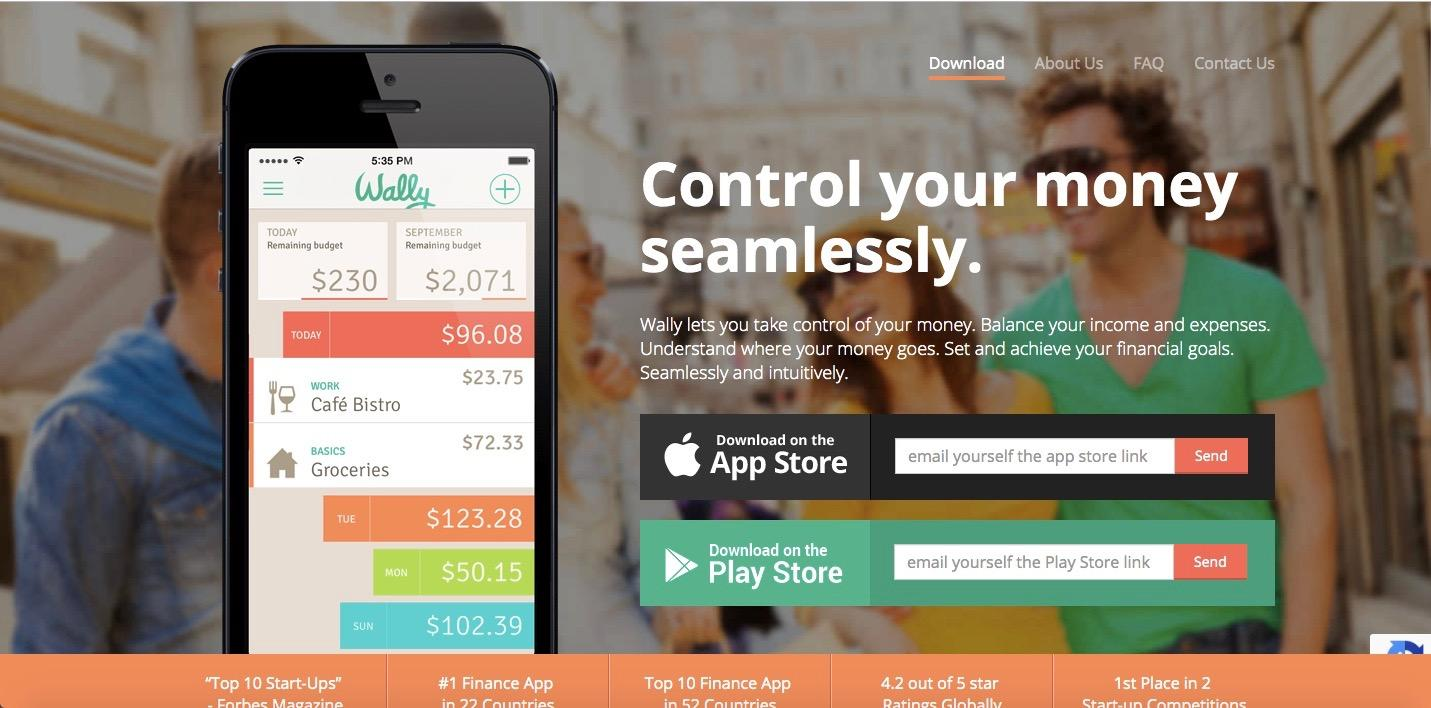 wally best budgeting personal finance app