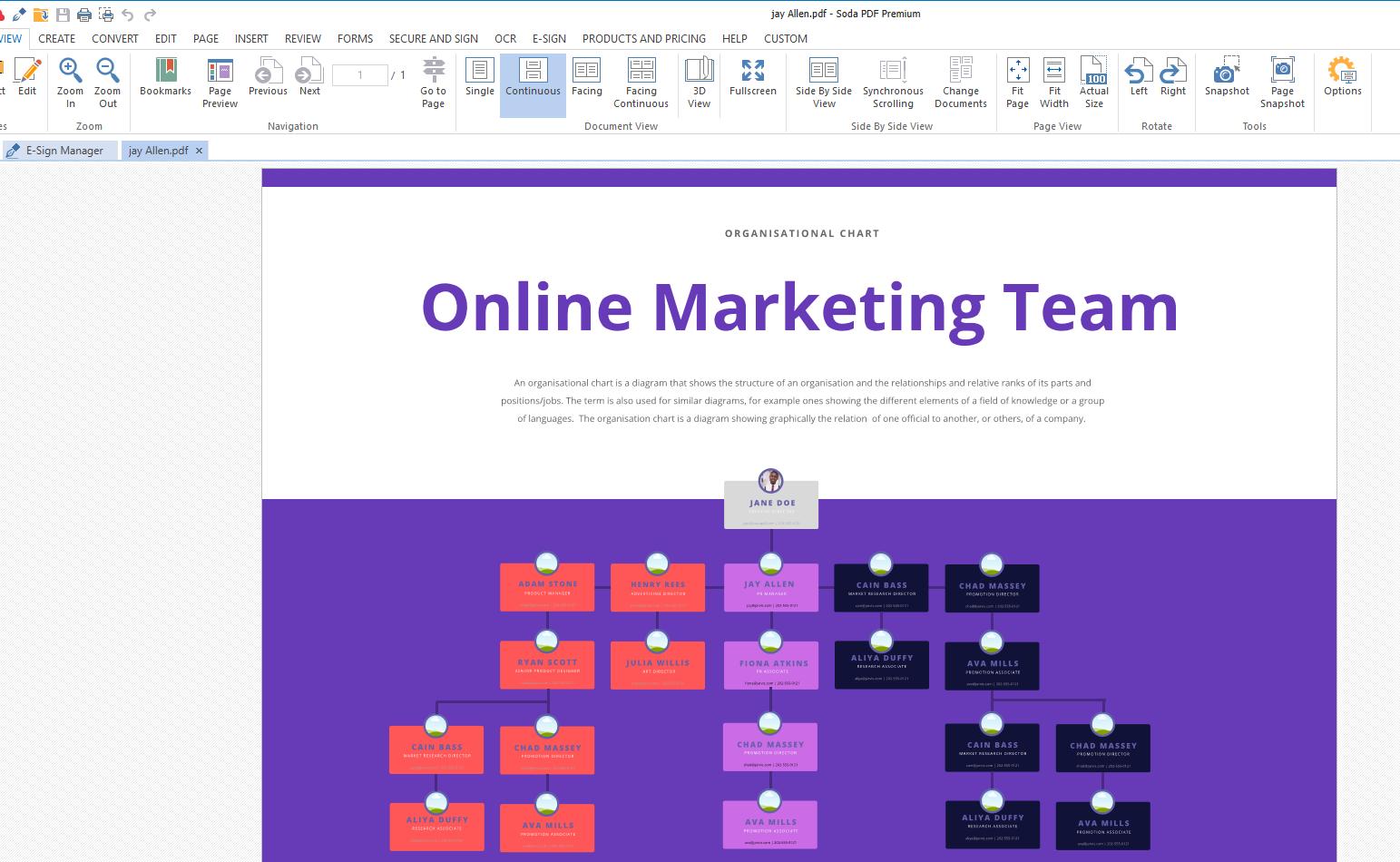 PDF copy org-chart
